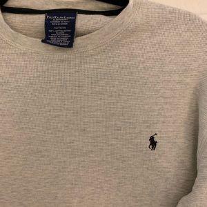 Men's Ralph Lauren Thermal -heather grey